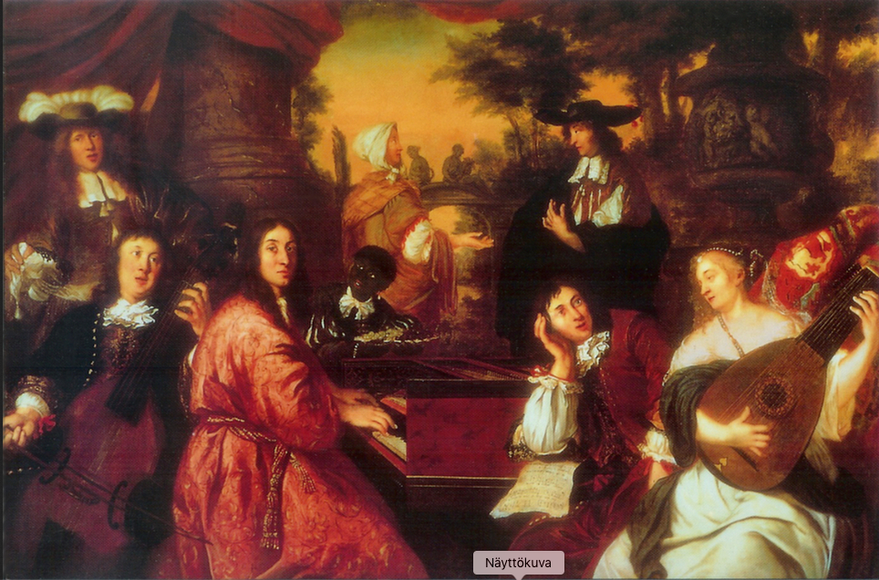 Musical Company Painting Johannes Voorhout 1674
